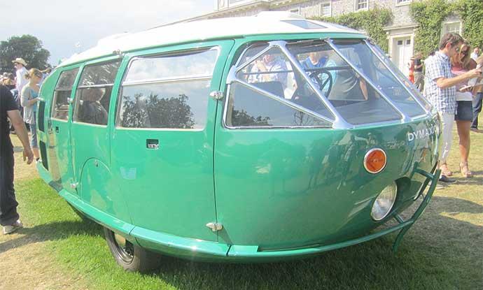 Buckminister Fuller's Dymaxion Car
