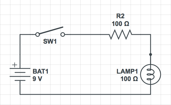 Basic Circuit Diagram with Switch