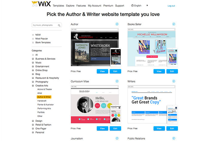 projects-wix-2-template-list