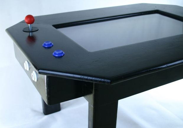 An Instructables Project Using Raspberry Pi and a Coffee Table to Create an Arcade Game Table
