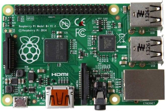 Raspberry Pi B+ Board