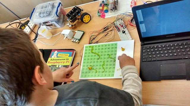 Finished Raspberry Pi Board Game