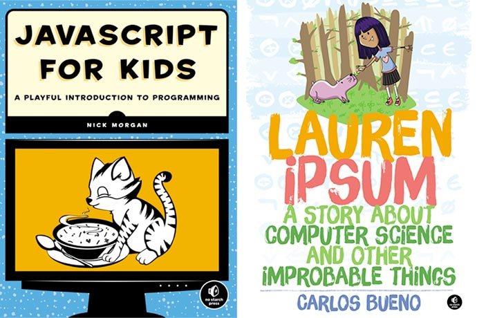 Two Books Teach Coding and Computer Science | beanz Magazine |